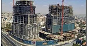 إيقاف بناء فندق
