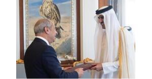 اللوزي يقدم أوراق اعتماده لأمير قطر