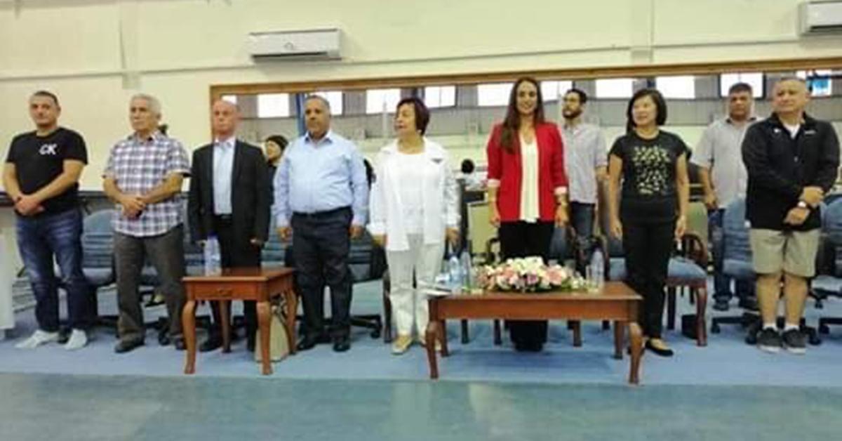 الاميرة رحمة ترعى حفل تكريم المشاركين في المعسكر التدريبي الآسيوي للجمباز