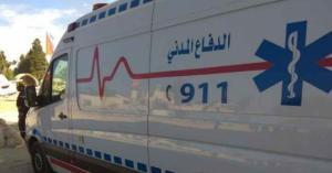 10 إصابات بحادثي تصادم في جرش والبلقاء