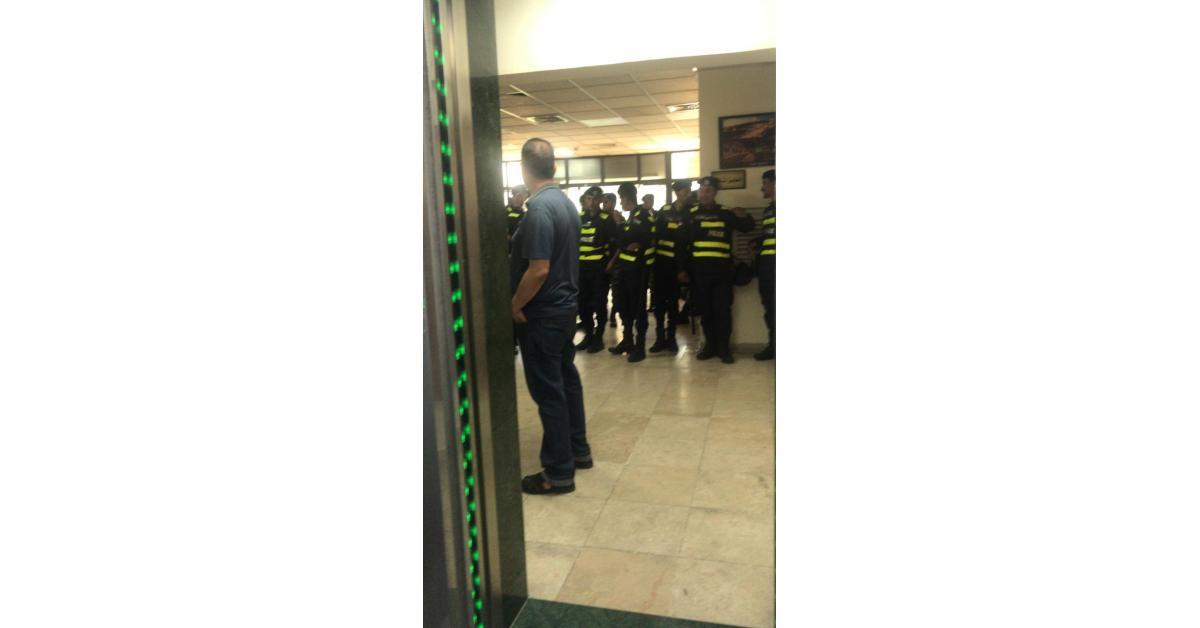 تواجد أمني داخل أمانة عمان