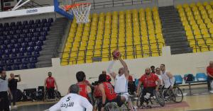خسارة منتخب السلة للكراسي المتحركة امام الامارات بدورة العاب غرب اسيا البارالمبية