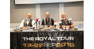 مؤتمر صحفي لمجموعه مالكي دراجات الهارلي ديفيدسون