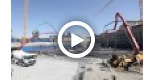 شاهد صبة مشروع ركاب صويلح ضمن مشروع باص سريع التردد (فيديو)