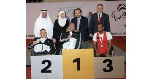 الأمير مرعد بن رعد يتابع فعاليات بطولة غرب آسيا البارالمبية