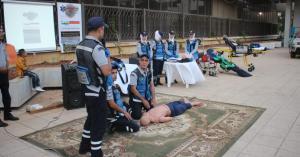 الدفاع المدني يُنظم مبادرة (صحتك بتهمنا) في محافظة اربد