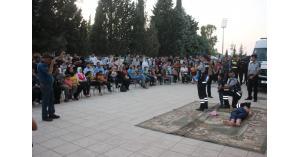 لليوم الثاني على التوالي الدفاع المدني يُنظم مبادرة (صحتك بتهمنا) في محافظة إربد
