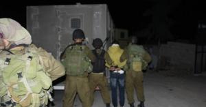 الاحتلال يعتقل 16فلسطينيا في الضفة الغربية