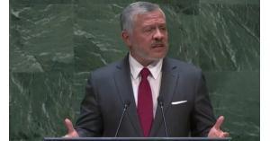 الملك عبدالله الثاني: إن استمرار الاحتلال إلى يومنا هذا مأساة أخلاقية عالمية