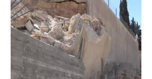 وفاة عامل سقط عليه جدار في إربد
