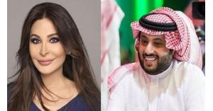 رد تركي آل الشيخ على تغريدة اليسا يشعل تويتر
