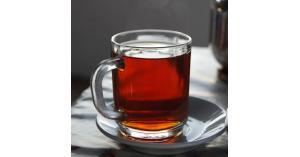 نسب التلوث البلاستيكى الموجودة فى كوب الشاى