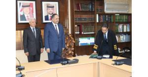 """""""154"""" محامياً يؤدون اليمين القانونية امام وزير العدل (اسماء)"""