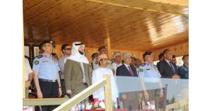 انطلاق فعاليات البطولة العسكرية الدولية الأولى لالتقاط الأوتاد بالزرقاء