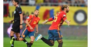 راموس يحطم الرقم القياسي لأكبر عدد من المباريات مع المنتخب الإسباني