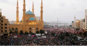 أول رد فعل للمتظاهرين على تصريحات الحريري