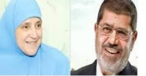 حقيقة وفاة زوجة محمد مرسي.. صورة