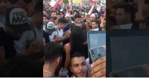"""لبنان ينتفض على """"وحدة ونص"""" بوجود راقصة في الميدان.. فيديو"""