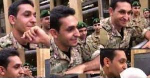 من هو الملازم في الجيش الذي كان نجم الثورة اللبنانية؟