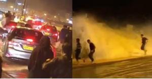 فيديو مرعب لتأثير اعصار كيار بسلطنة عمان .. الأمواج هاجمت الناس بشكلٍ مخيف