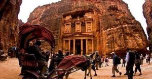 البتراء تسجل رقما تاريخيا باستقبال السياح