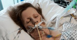 امرأة تدخل في حالة غيبوبة بسبب قطة