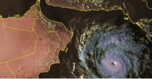 """اعصار """"مها"""" قادم باتجاه السعودية"""