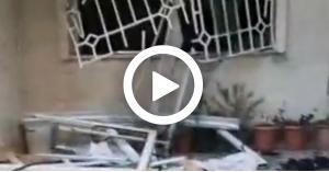 انفجار في عمارة سكنية في اربد ووجود إصابات..فيديو