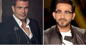 أحمد حلمي يوجه رسالة للفنان عمرو دياب.. صورة