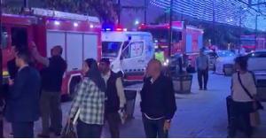 حريق في شارع الوكالات.. فيديو