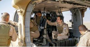 ولي العهد يواصل تدريباته في قاعدة الملك عبدالله الثاني الجوية