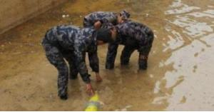 الدفاع المدني يشفط المياه من داخل 147 منزل خلال يوم واحد.. تفاصيل
