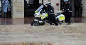 الأمانة تنفي غرق شوارع عمان
