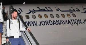 استياء شعبي بعد وصول ميسي لإسرائيل على متن طائرة أردنية.. فيديو وصور