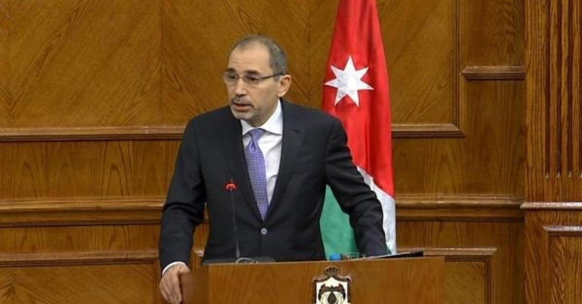 الصفدي: نرفض ضم مستوطنات غور الأردن