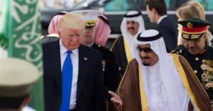الملك سلمان يعزي ترامب