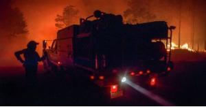 جهاز شحن هاتف يضرم النار بثلاثة منازل