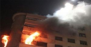 وفاة طفلين بحريق شقة في عمان