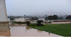 قصر زياد المناصير يتعرض للغرق.. صور