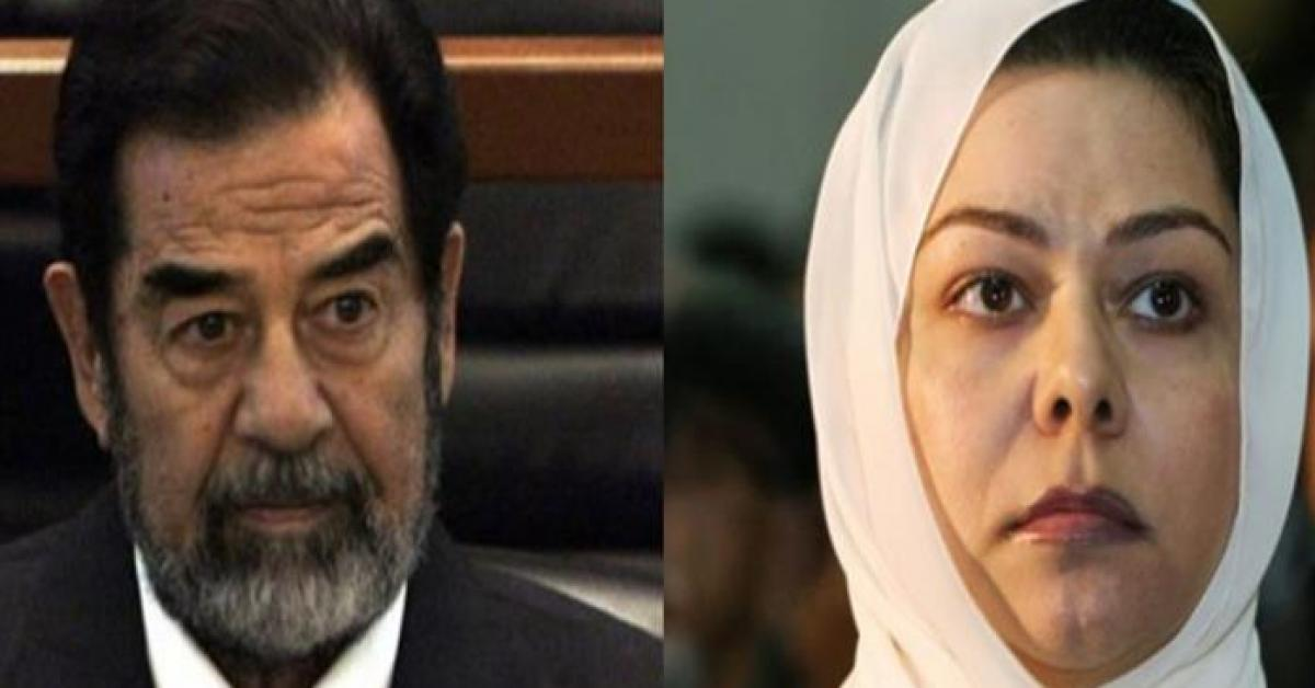 رغد صدام حسين تكشف عن فيديو يجمع والدها بالسلطان قابوس