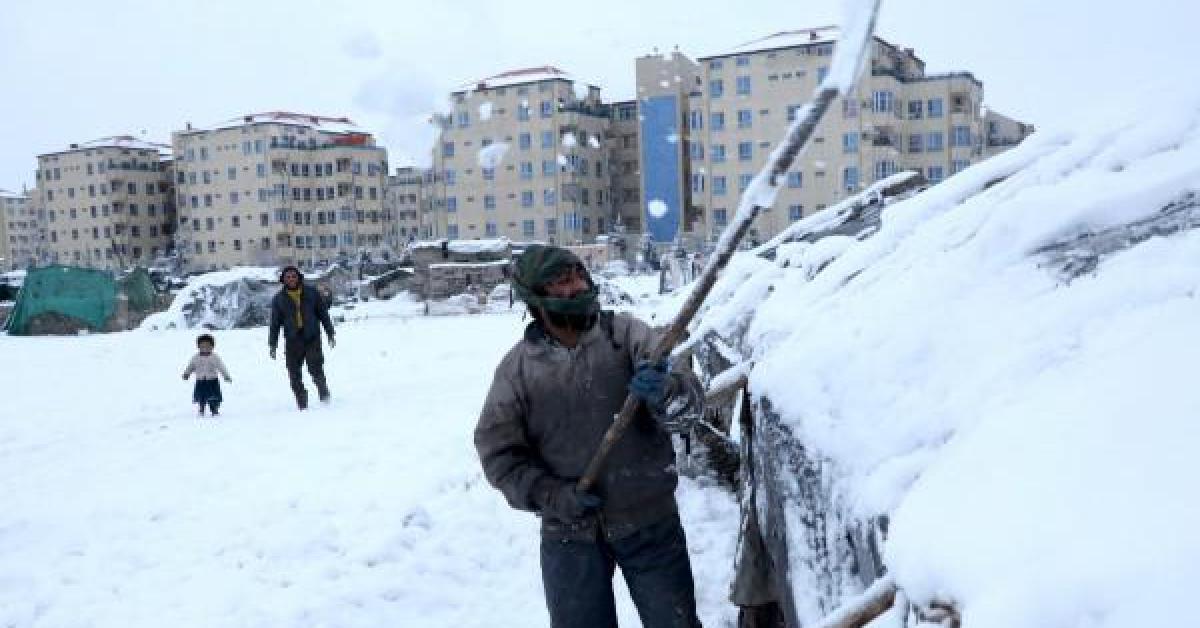 موجة برد تودي بحياة 17 أفغانيا على الأقل