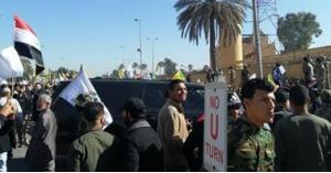 مقتل متظاهر واصابة 10 بجروح في بغداد