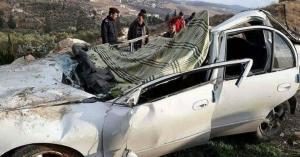وفيات بحادث على طريق إربد عمان