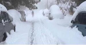 تطورات المنخفض وأماكن تساقط الثلوج الجمعة