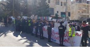 بسبب المنح والقروض ..اعتصام أمام وزارة التعليم العالي