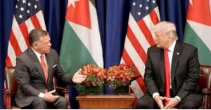 ترامب يصف الملك عبدالله بـ الرائع