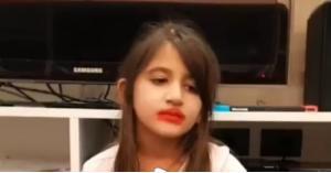 طفلة نانسي عجرم تحدث ضجة على الإنترنت