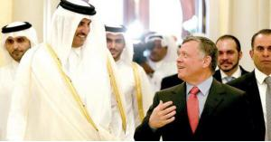قطر تؤكد زيارة اميرها للأردن