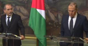 لافروف للصفدي: موقفنا متطابق مع الأردن حول القضية الفلسطينية