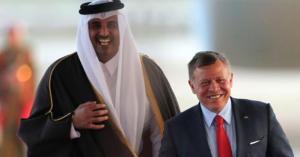 تفاصيل زيارة الأمير تميم إلى الأردن